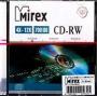 CD-RW Mirex 700 Мб 4-12x Slim case