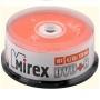 DVD+R Mirex 4,7 Гб 16x Cake box 25