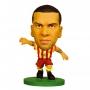 Фигурка футболиста Soccerstarz - Barcelona Dani Alves - Away Kit (202514)